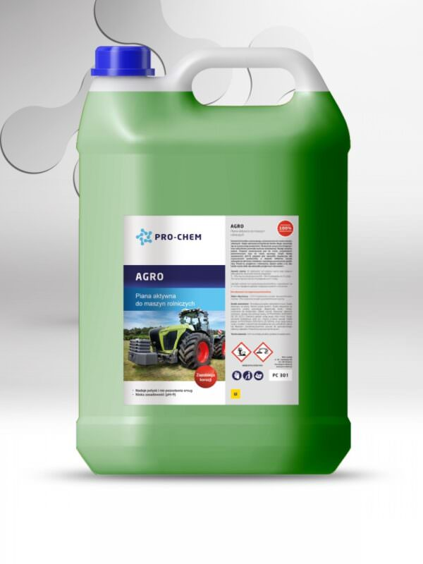 Активна піна для миття сільськогосподарської техніки AGRO