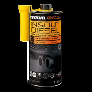Присадка для чистки впускної і випускної систем дизельного двигуна XENUM IN & OUT CLEANER DIESEL