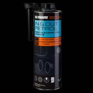 Присадка для професійного очищення бензинових двигунів XENUM IN & OUT PETROL CLEANER