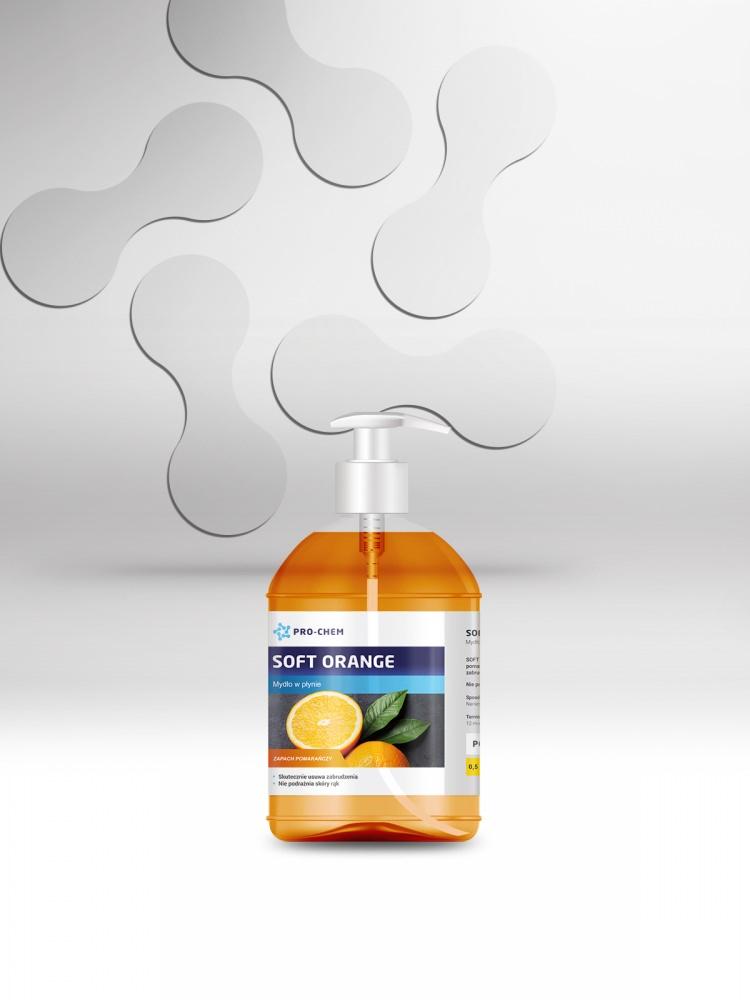 Рідке мило з апельсиновим ароматом SOFT ORANGE