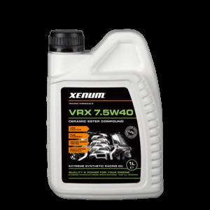 Моторна олива з керамікою XENUM VRX 7.5W40