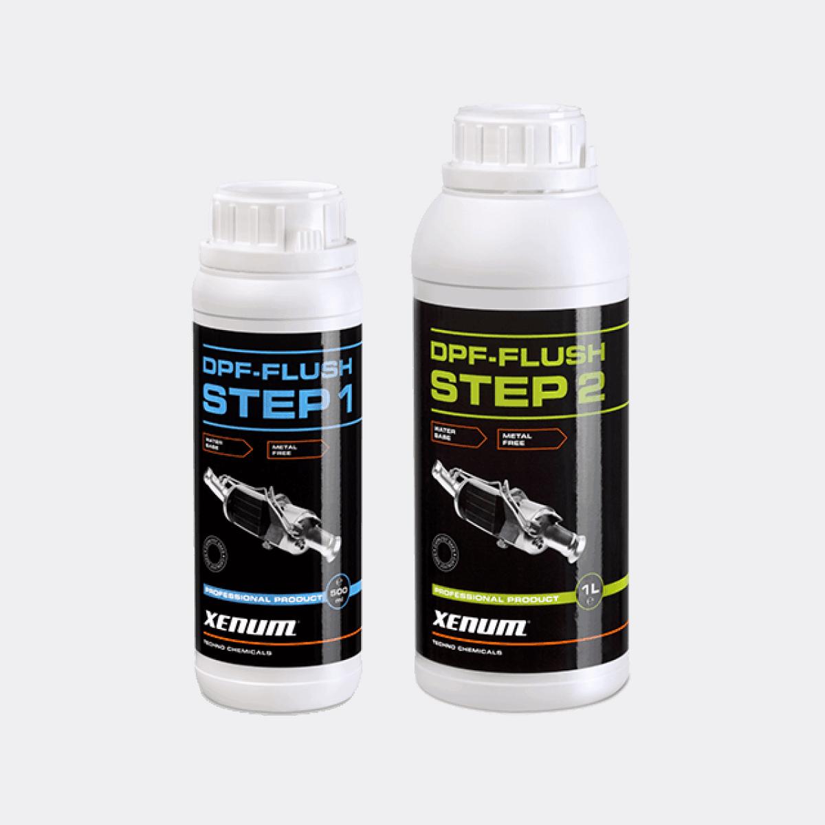 Набір для чистки сажового фільтра XENUM DPF KIT (Step 1 + Step 2)