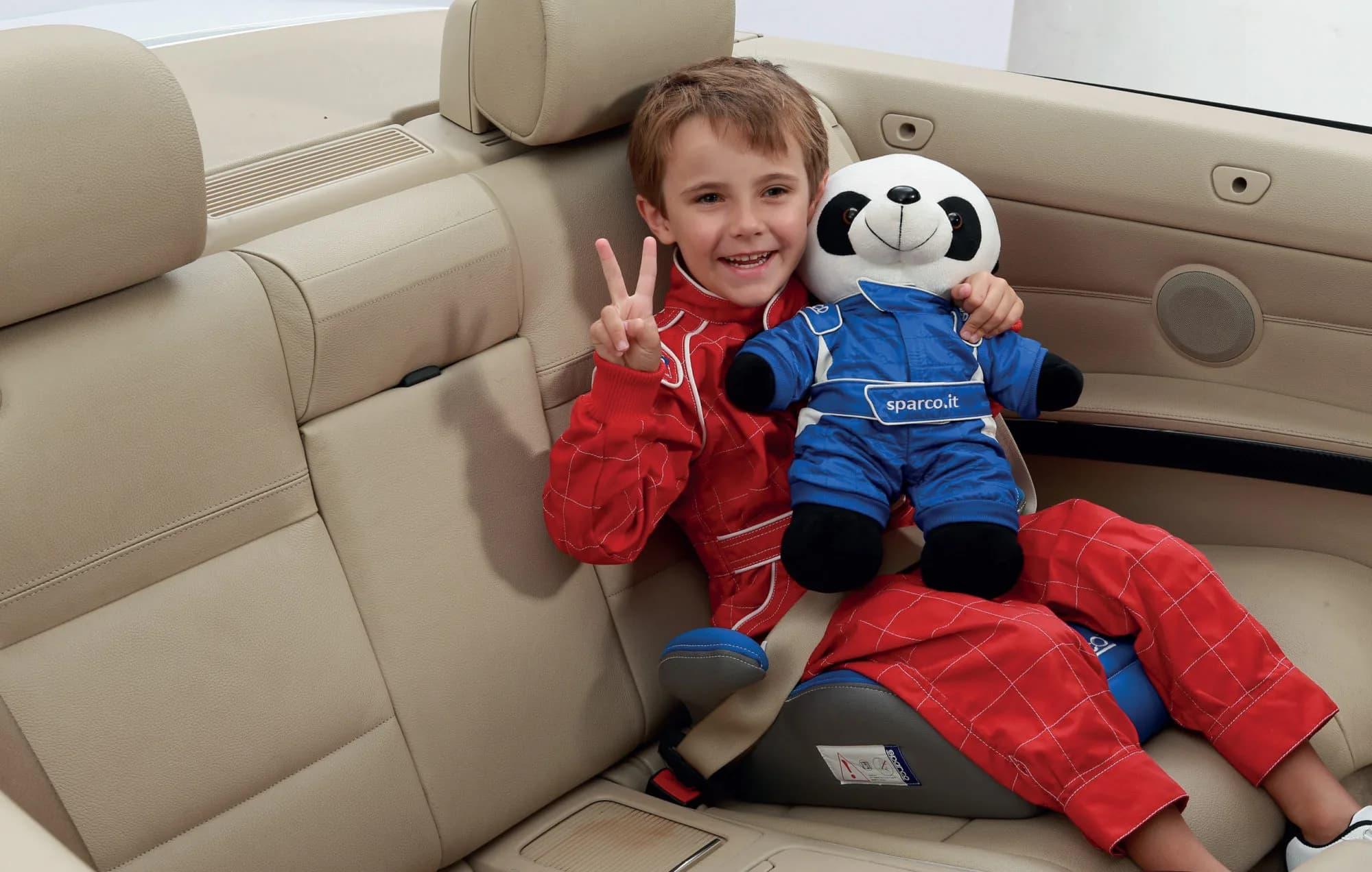 Дитяче сидіння - бустер SPARCO F100K