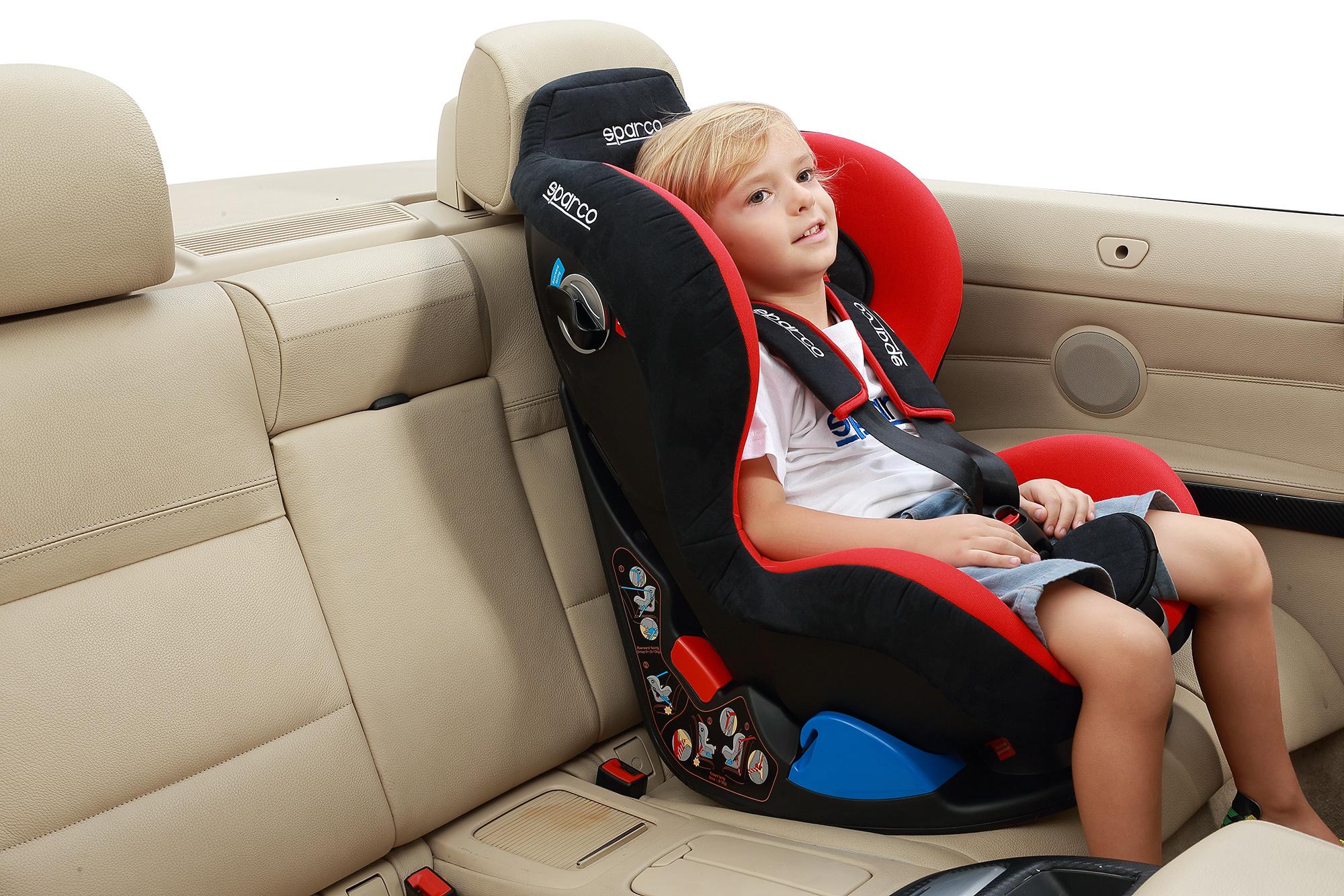 Дитяче автокрісло SPARCO | F5000K