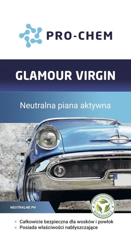 Активна піна з нейтральним ph GLAMOUR VIRGIN