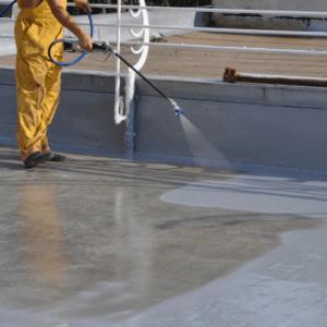 Миття бетонних поверхонь
