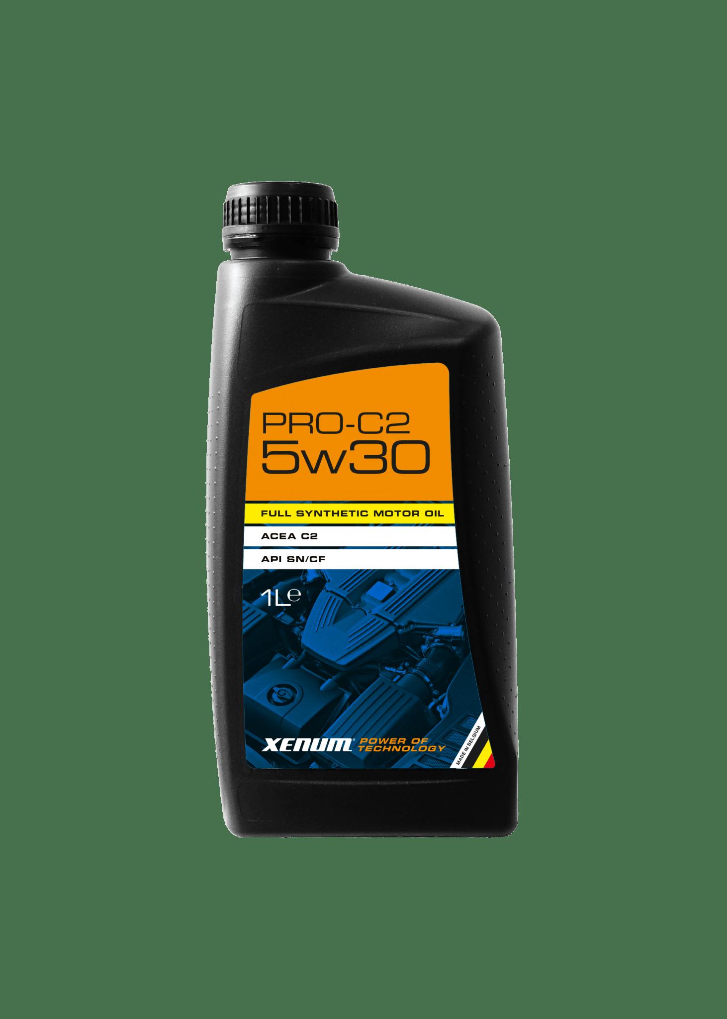 Моторна олива для двигунів Peugeot, Citroën та японських OEM XENUM PRO-C2 5W30