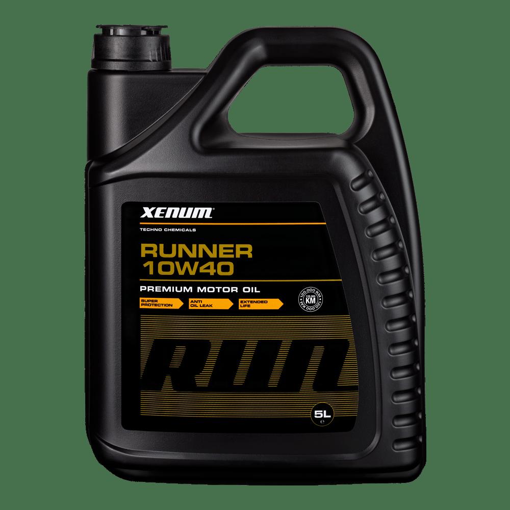 Моторна олива для двигунів з великим пробігом XENUM Runner 10W40