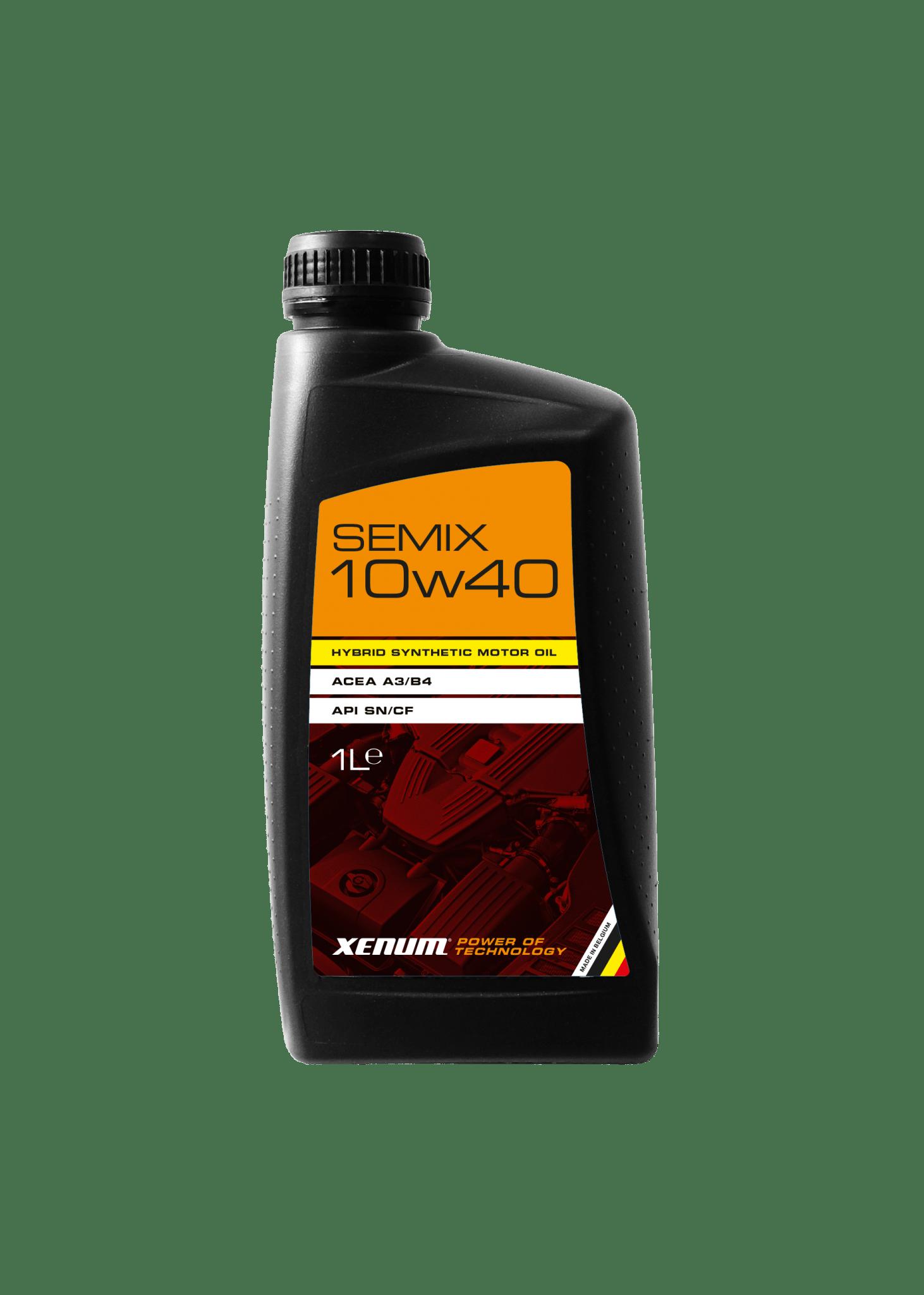 Гібридна синтетична моторна олива XENUM SEMIX 10W40