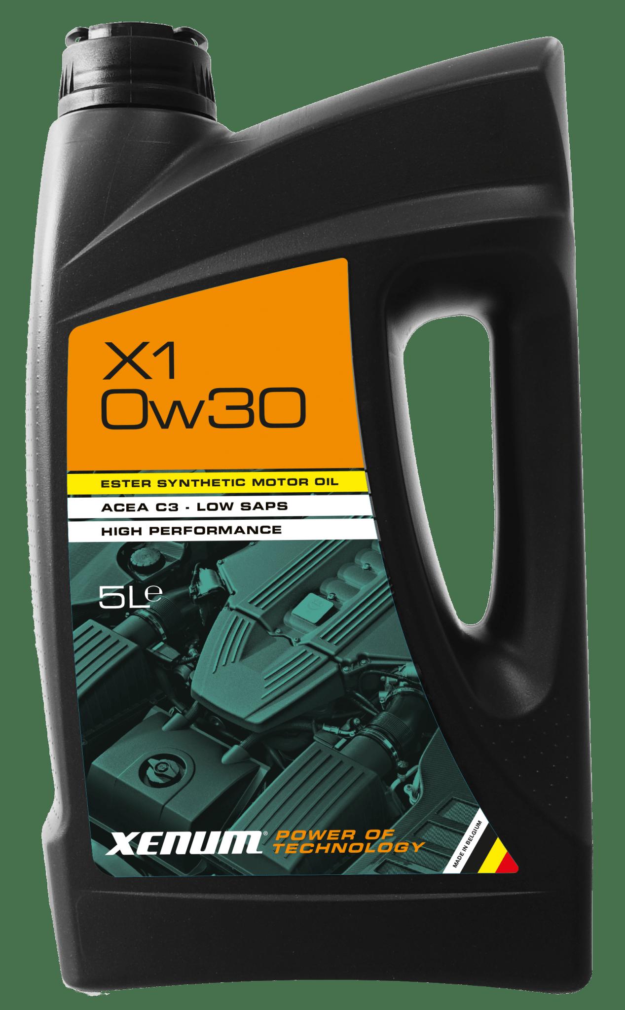 Моторна олива з естерами XENUM X1 0W30 Ester Hybrid